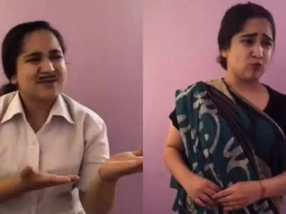 Zahara mimics Jethalal and Daya; video