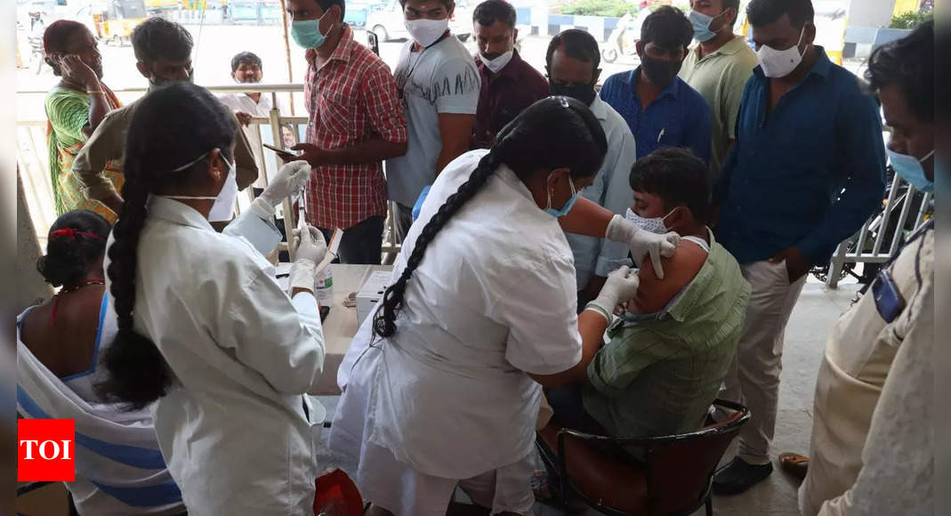 Govt allows Covid vaccines at home to differently-abled and those with restricted mobility