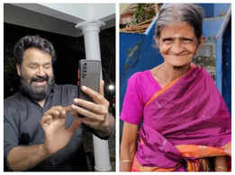 Watch: Mohanlal surprising his ardent admirer Rugmini!