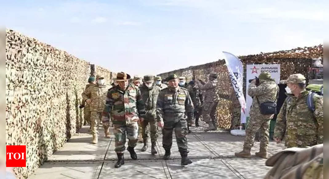 CDS General Rawat attends SCO military exercise in Russia