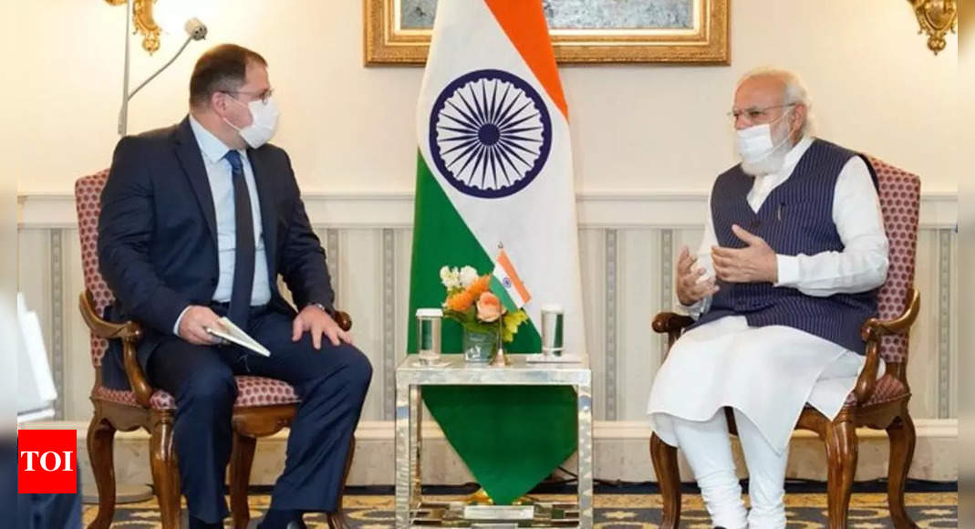 PM Modi holds 'productive interaction' with Qualcomm CEO