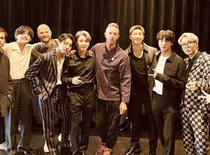 BTS and Coldplay release 'My Universe' lyrics