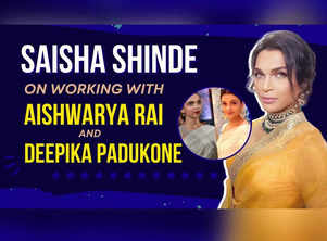 Saisha Shinde on working with Aishwarya