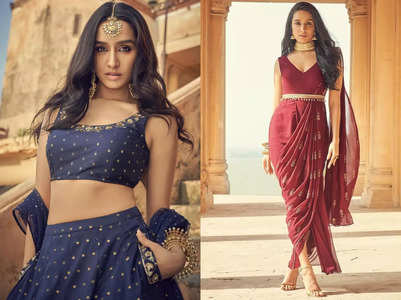 Shraddha Kapoor's 3 ethnic outfits that any Indian bride can wear