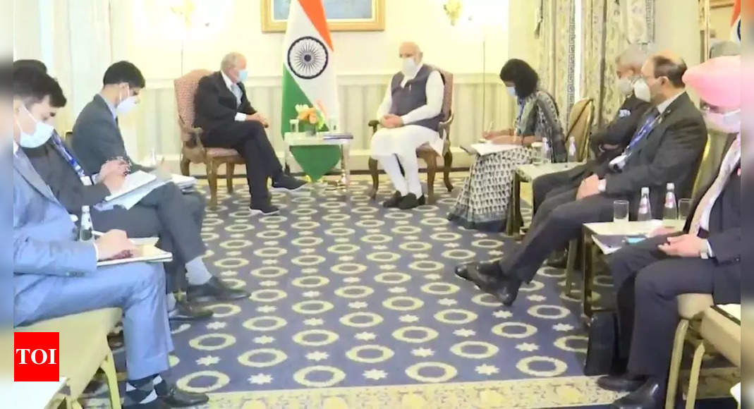 PM Modi meets leading American CEOs: Who they are, what was discussed – Times of India