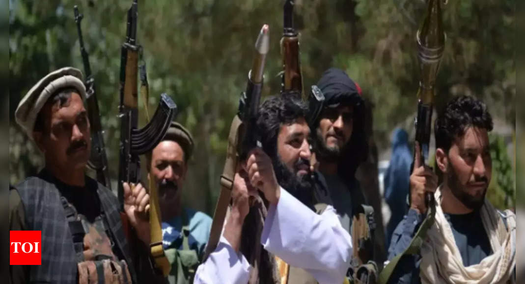 taliban: World powers agree to push Taliban to form inclusive government – Times of India