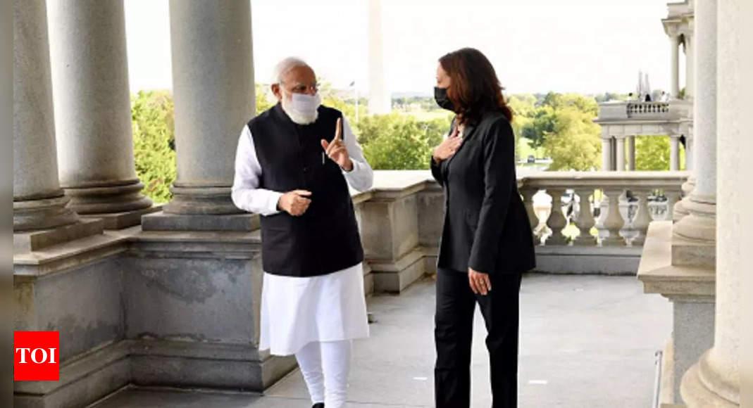 US VP Kamala Harris 'suo moto' refers to Pakistan's role in terrorism during meeting with PM Modi