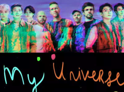 BTS & Coldplay's 'My Universe' is out!