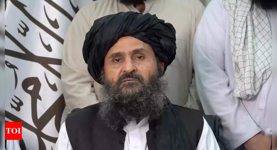 taliban: Taliban faces discord among top leadership – Times of India