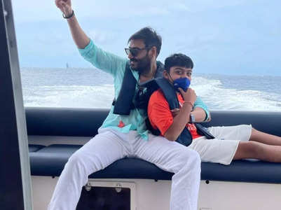 Ajay Devgn shares an adorable pic with Yug