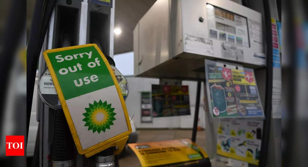 UK urges public calm over shut fuel stations