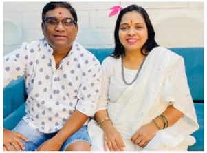 Bhau's B'day wish for wifeMamata Kadam