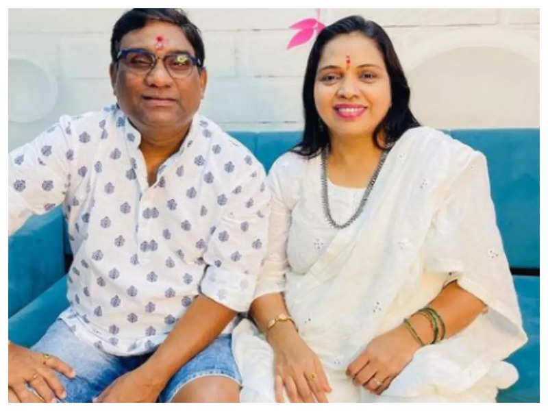 Bhau Kadam wishes wife Mamata Kadam on birthday with an adorable post