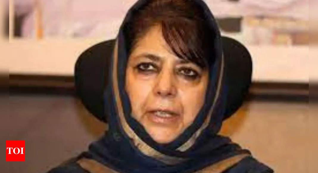 Centre disempowering people of Kashmir: Mehbooba