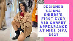 Designer Saisha Shinde's first-ever red carpet appearance post coming out as transwoman