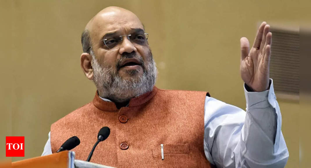 Home minister Amit Shah to review situation in Maoist-hit areas with 10 CMs on Sunday