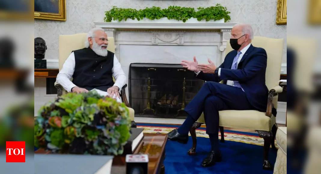 Biden invokes family ties in India amid US-India strategic embrace