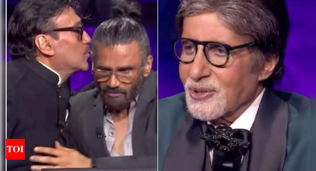 Suniel & Big B in tears for Jackie's late mom