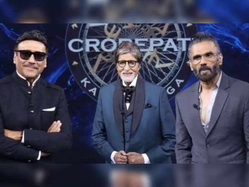 Jackie Shroff and Suniel Shetty share their Amitabh Bachchan fan moments on Kaun Banega Crorepati 13