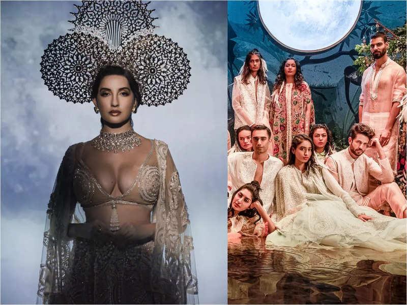 Nora Fatehi looks every inch the seductive sorceress