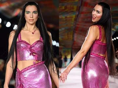 MFW: Dua Lipa makes her runway debut