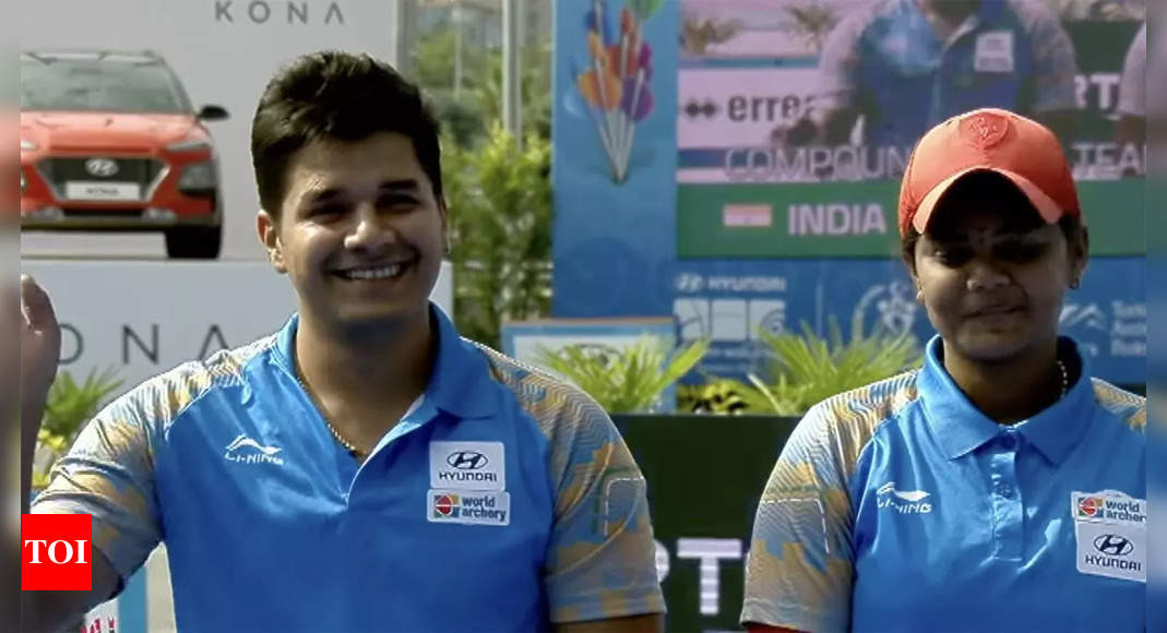Gold eludes India yet again at archery World Championships, two silver medals in team events   More sports News – Times of India