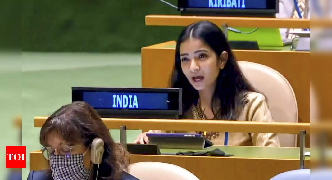 Sneha Dubey: Know all about India's first secretary at UN