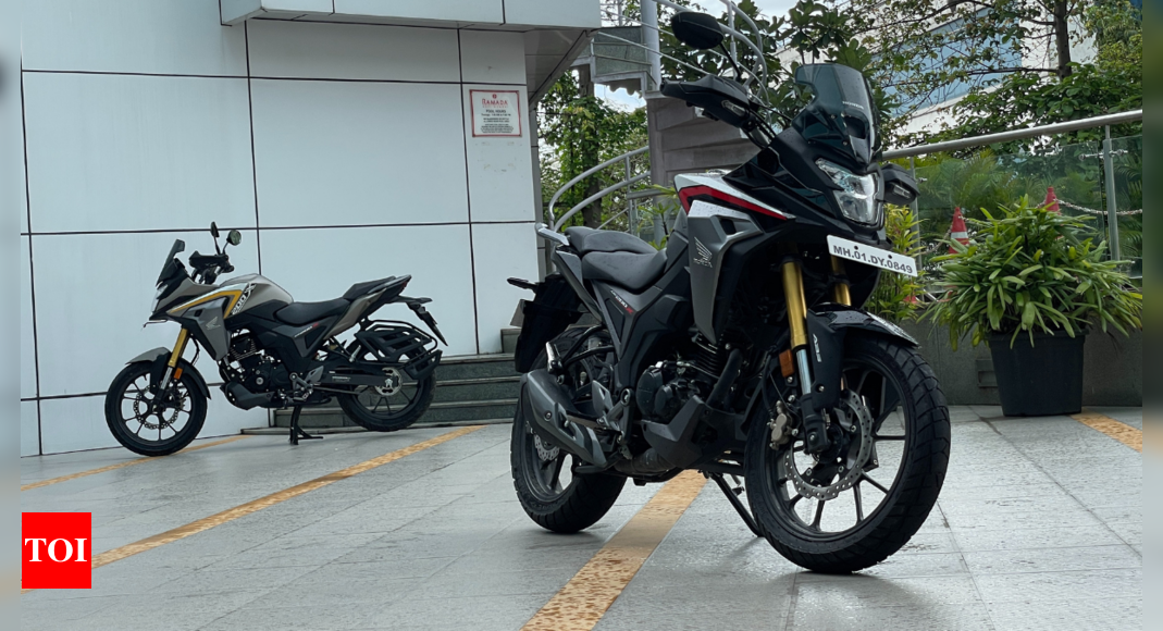 Review: Honda CB200X comfortably rides you places, not off-road – Times of India