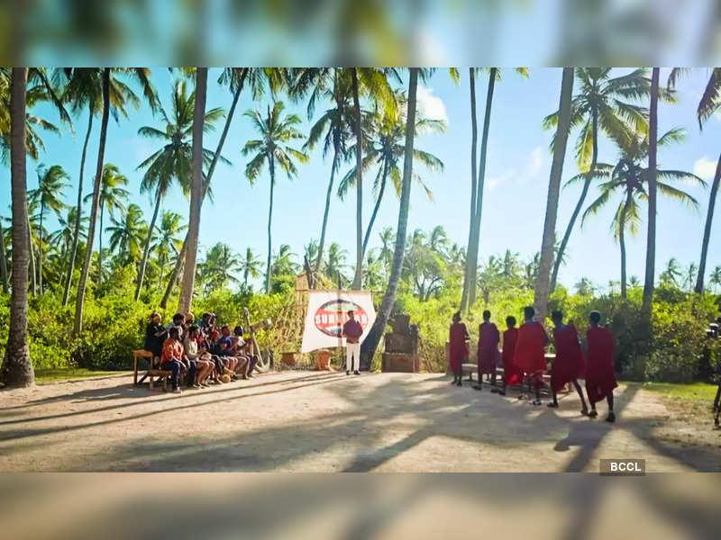 Survivor Tamil, September 24, highlights: Maasai tribe meets Vedargal and Kadargal teams; Umapathy and Aishwarya Krishnan chosen as best performers (Screenshot)