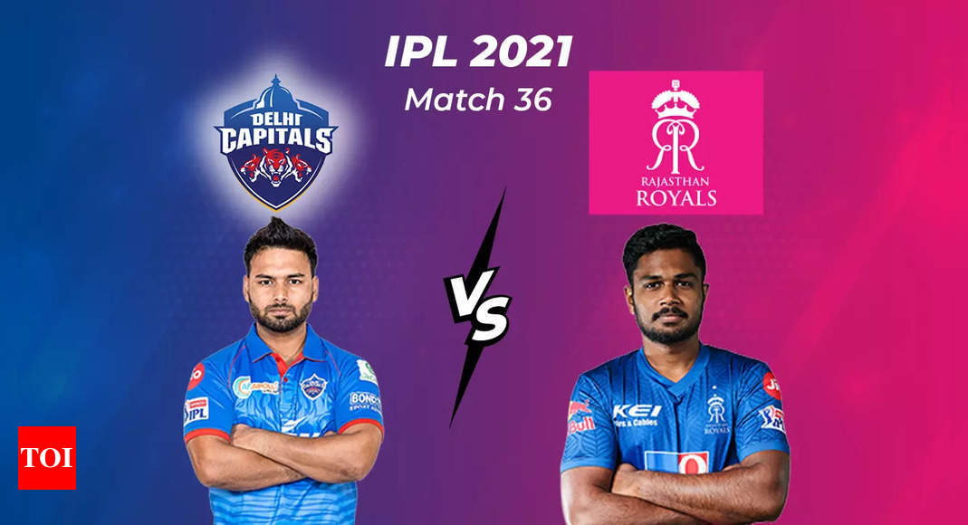 Live Blog: DC vs RR, IPL 2021, Match 36