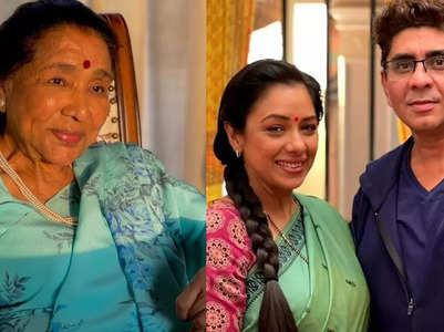 Asha Bhosle all praise for Anupamaa