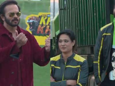 KKK: Shweta-Rahul scolded for aborting stunts