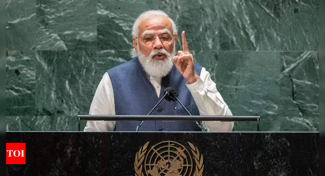 India to launch 75 student-made satellites during 75th year of Independence Day: PM Modi at UNGA