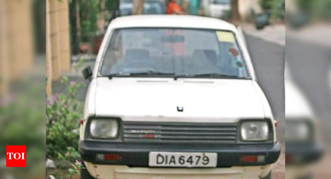 4 decades ago, India started its road trip in this little car – Times of India