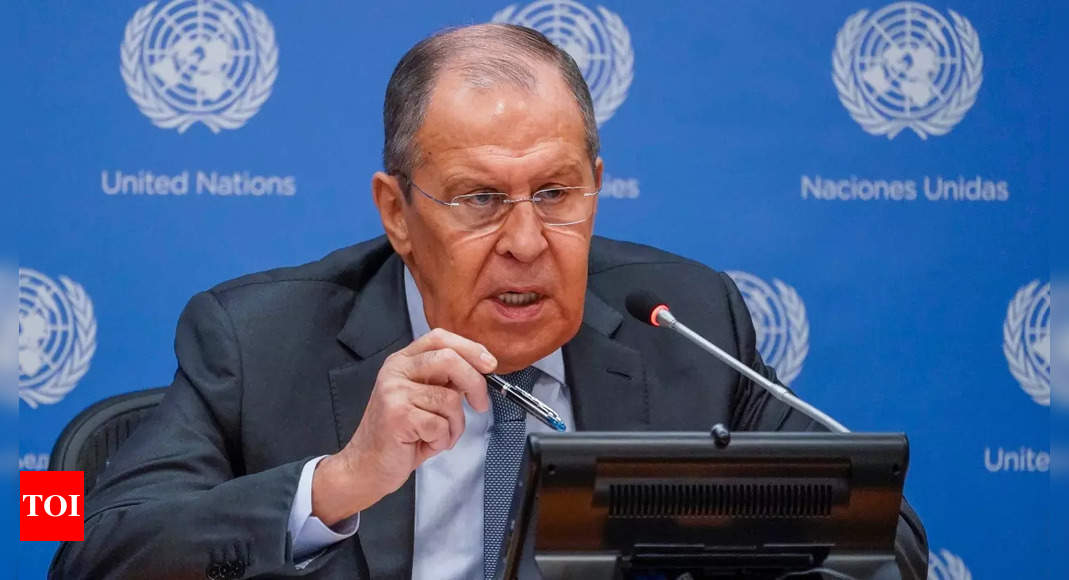 russia: Russia says it is in sync with US, China, Pakistan on Taliban – Times of India