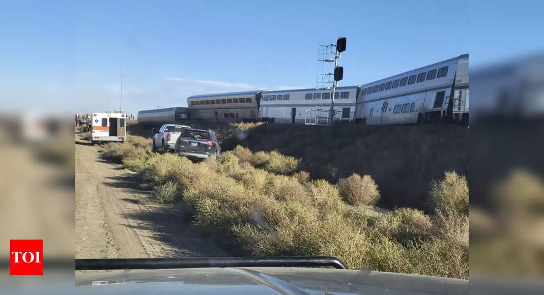 US: 3 dead in Amtrak train derailment