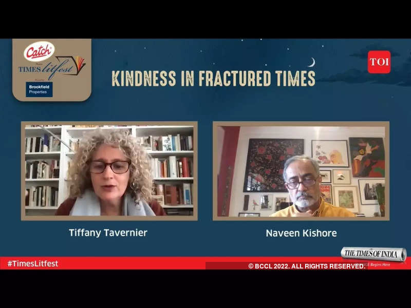 <p>Tiffany Tavernier in conversation with Naveen Kishore at the Times Litfest 2021<br></p>