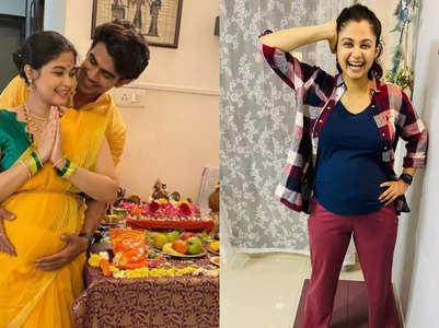 Ruchi enjoys pregnancy workouts with Ankit