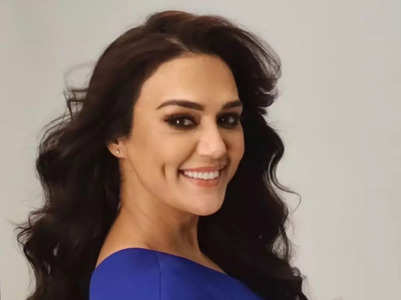 Watch: Preity's hilarious 'model face' video