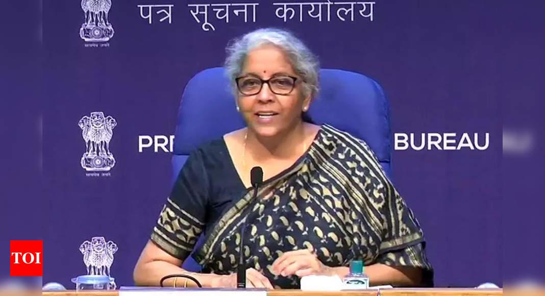 Many districts lack banking presence despite high economic activity: Sitharaman