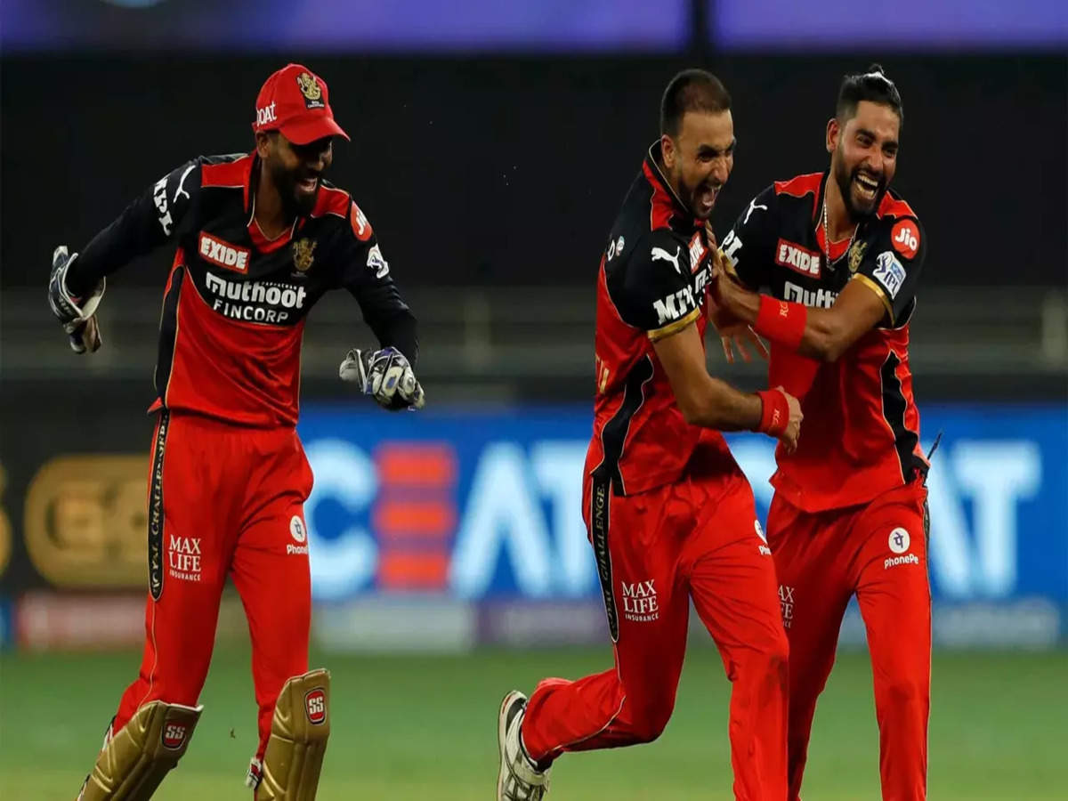 RCB vs MI Highlights, IPL 2021: Harshal Patel hat-trick helps Bangalore  crush Mumbai by 54 runs - The Times of India