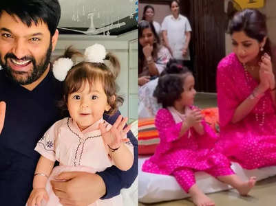 Kapil-Shilpa's cute Daughter's Day posts