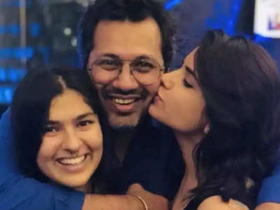 Malav wishes old Sonu Nidhi on Daughter's Day