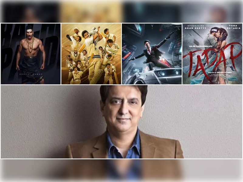 Sajid Nadiadwala on announcing 'Tadap', '83', 'Bachchan Pandey', 'Heropanti' release dates: Have always made films for theatre audiences