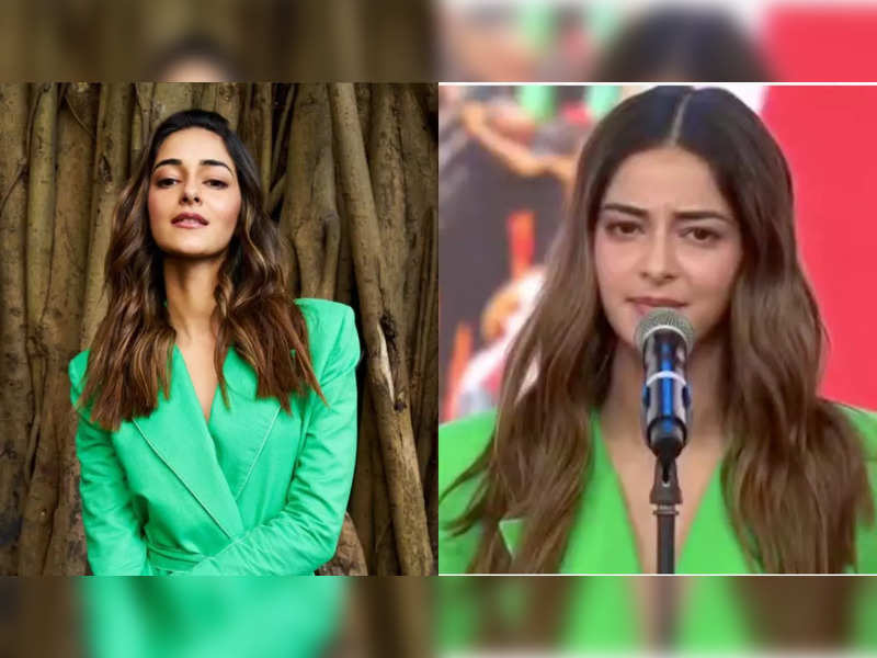 Ananya Panday becomes the youngest Indian celebrity to mark attendance at the Global Citizen concert; speaks for a social cause