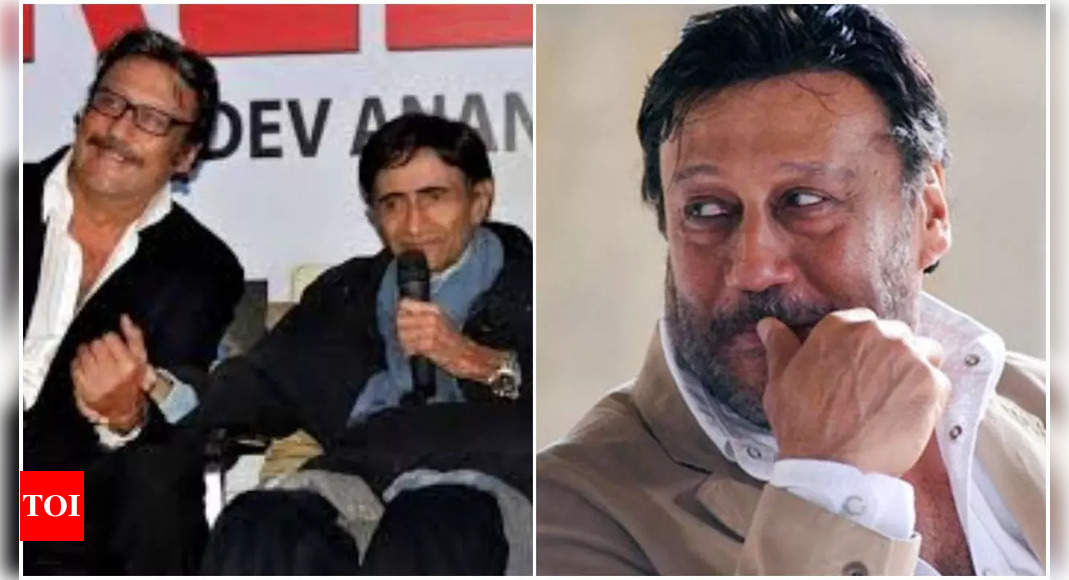 Excl: Jackie Shroff remembers Dev Anand
