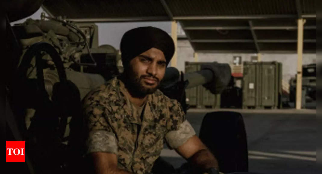 US marines reluctantly let a Sikh officer wear a turban. He says it's not enough
