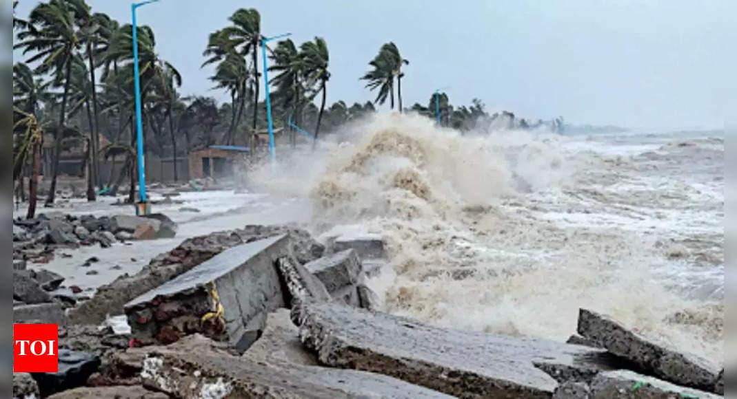 1 dead, many evacuated as Gulab makes landfall