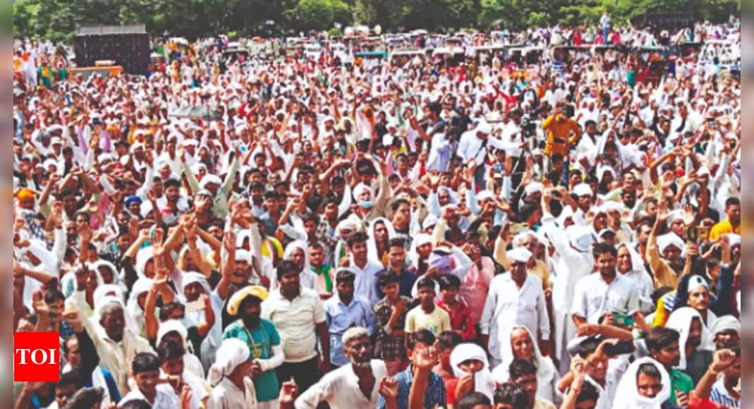 UP govt raises sugarcane SAP a day ahead of farmers' bandh