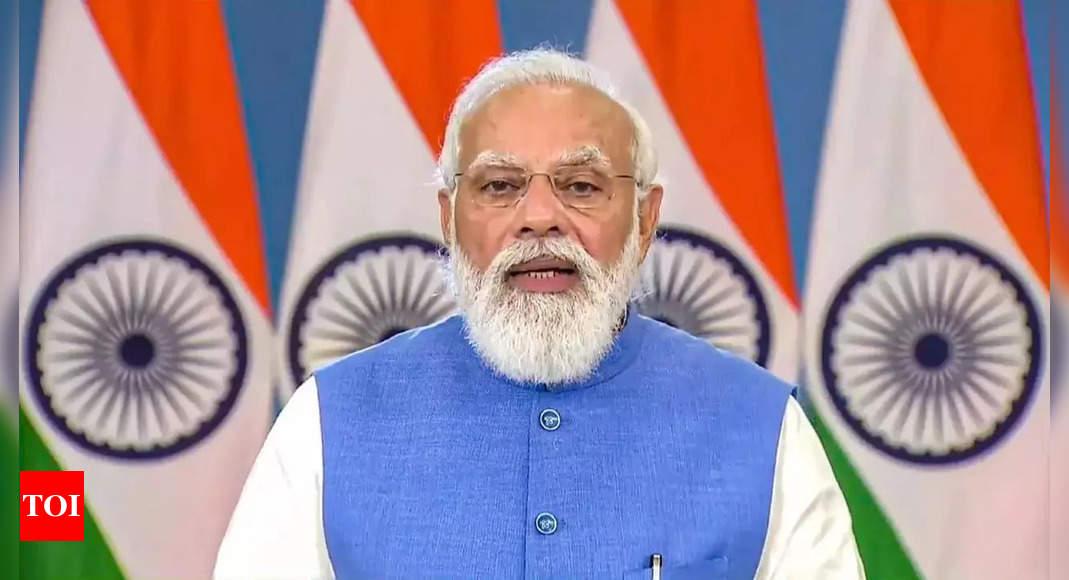 ayushman bharat digital mission: PM Modi to launch Ayushman Bharat Digital Mission today | India News – Times of India